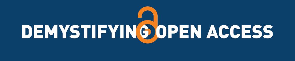 Demystifying Open Access Event Logo